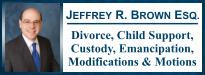Jeffrey R. Brown, Attorney at Law, MONMOUTH County NEW JERSEY divorce lawyers